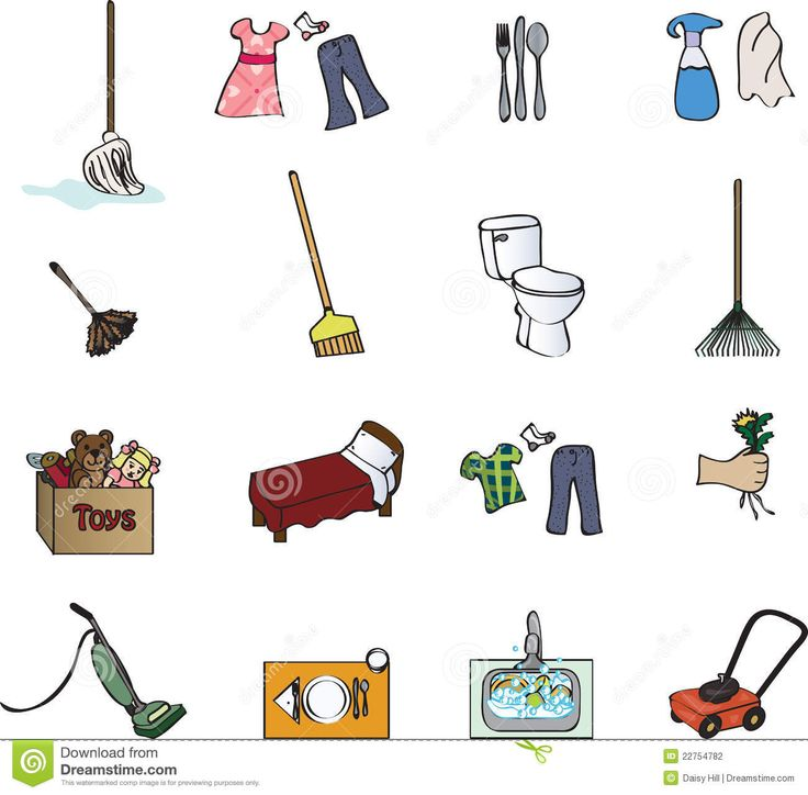 clipart library stock Clipart chores. Chore cleaning transparent free.