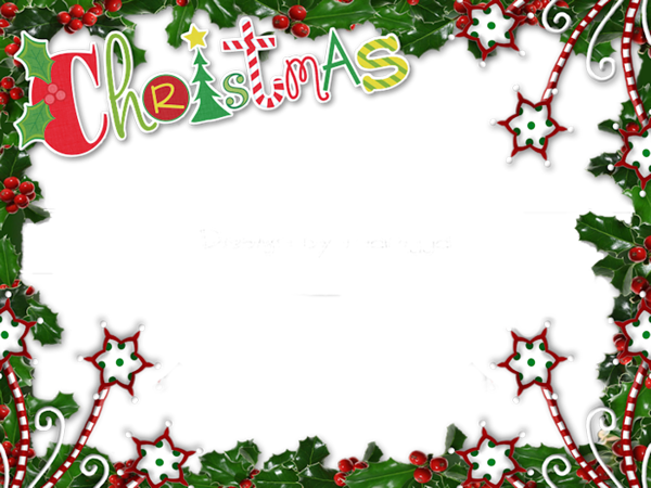 clipart download Clipart christmas borders and frames. Transparent png photo frame