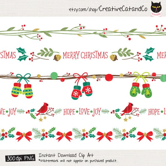 clip art black and white download Border frame seamless clip. Clipart christmas borders