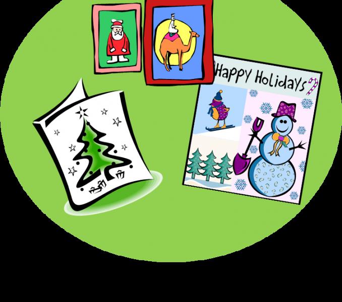 jpg stock Christmas card clipart christmas card template clip art at clker