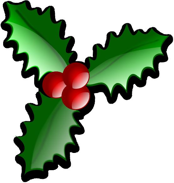 vector royalty free stock Clip art holly christmas. Xmas clipart motif