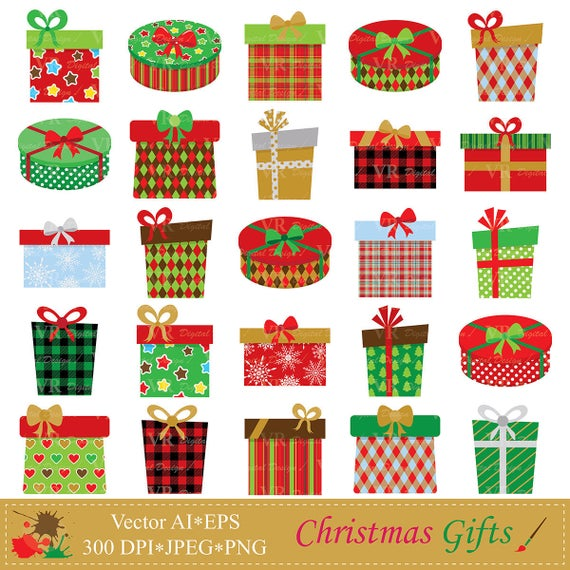 png library stock Gifts clip art gift. Clipart christmas presents