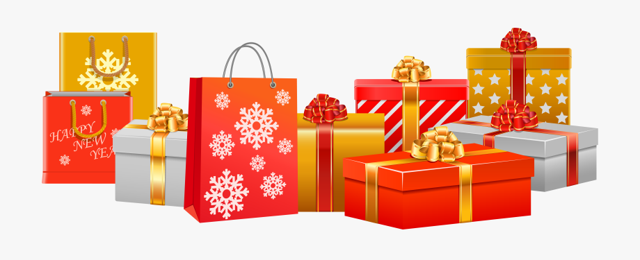 free download Clipart christmas presents. Gifts png image