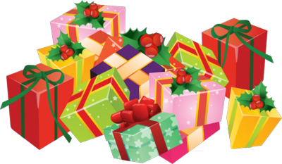 clipart royalty free library Free gifts cliparts download. Clipart christmas presents
