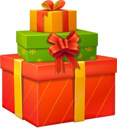 graphic library download  best images in. Clipart christmas presents