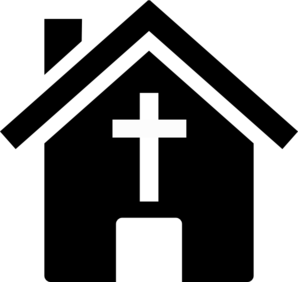 png transparent stock Church clip art panda. Religious clipart black and white