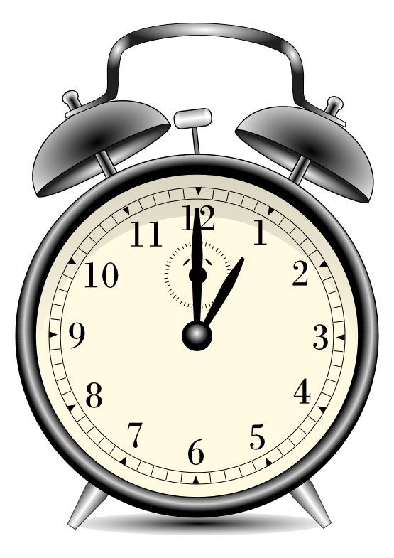 svg freeuse ALARM CLOCK CLIP ART