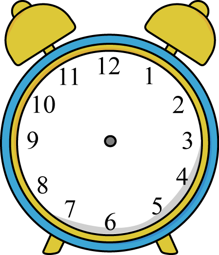 vector freeuse library No Alarm Clock Clipart