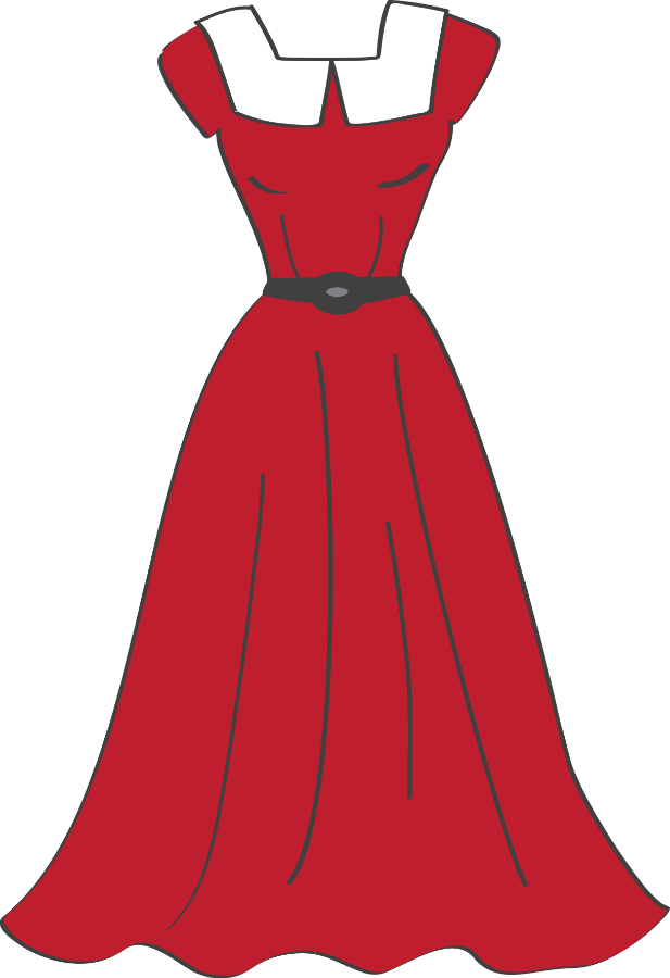 graphic royalty free download Gown clipart dress dummy. Group costura e roupas
