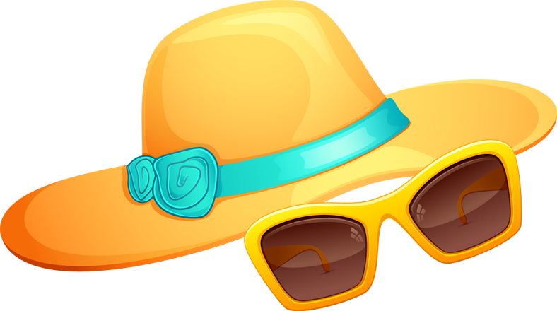 clipart freeuse library Goggles clipart beach. Kids summer clothes panda