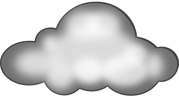 clip art library stock Clouds clipart paper. Storm cloud vder och.