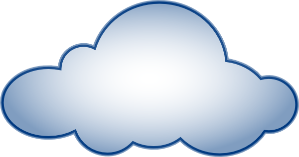 clipart free stock Cloud clip art outline clipart