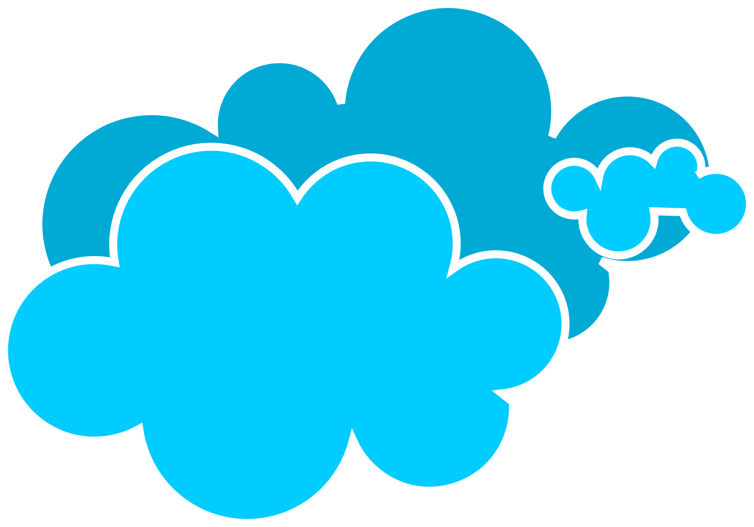 picture royalty free stock Best Blue Cloud Clipart Images