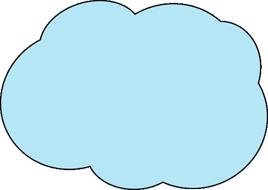 jpg stock Clouds clipart text. Fluffy blue cloud clip.