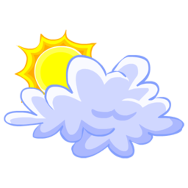 jpg royalty free stock Sun with clouds clipart. Cloud x free images