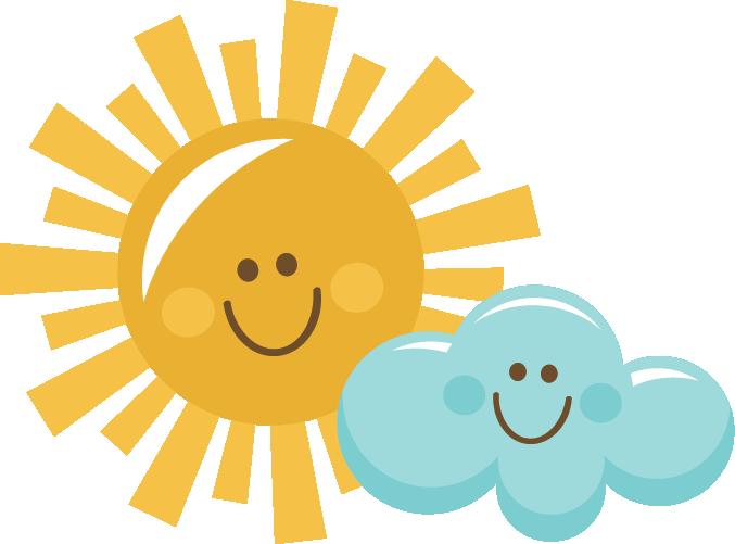picture freeuse download Happy Sun And Cloud SVG scrapbook title sun svg cut file sun cut