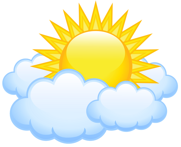 clipart freeuse download Sun with transparent png. Clouds clipart paper.