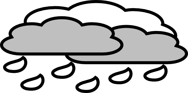 image download Rain Cloudy Clip Art at Clker