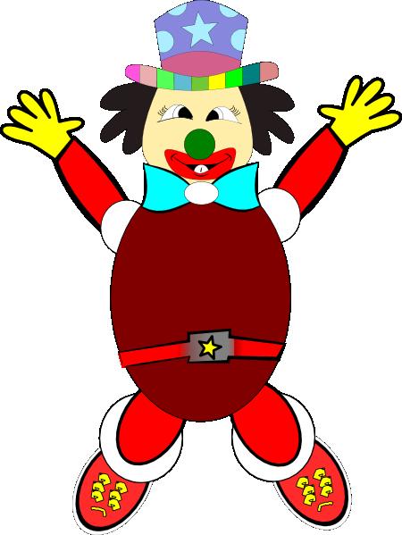 jpg royalty free stock Clipart clown. Clip art at clker