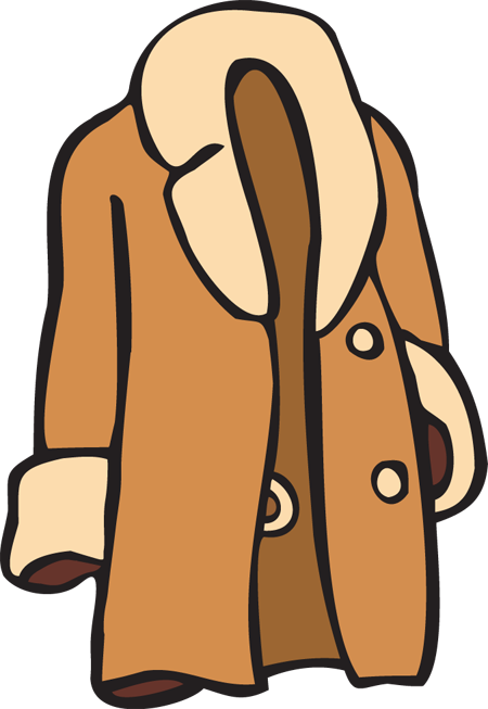 svg royalty free Free . Coat clipart
