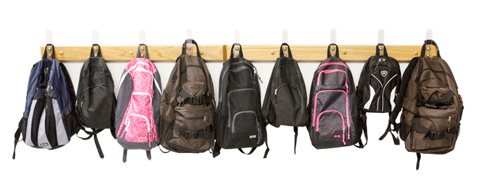 royalty free Backpack Clipart hang backpack
