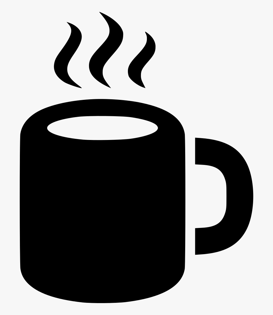 clipart black and white library Png icon free cliparts. Clipart coffee mug