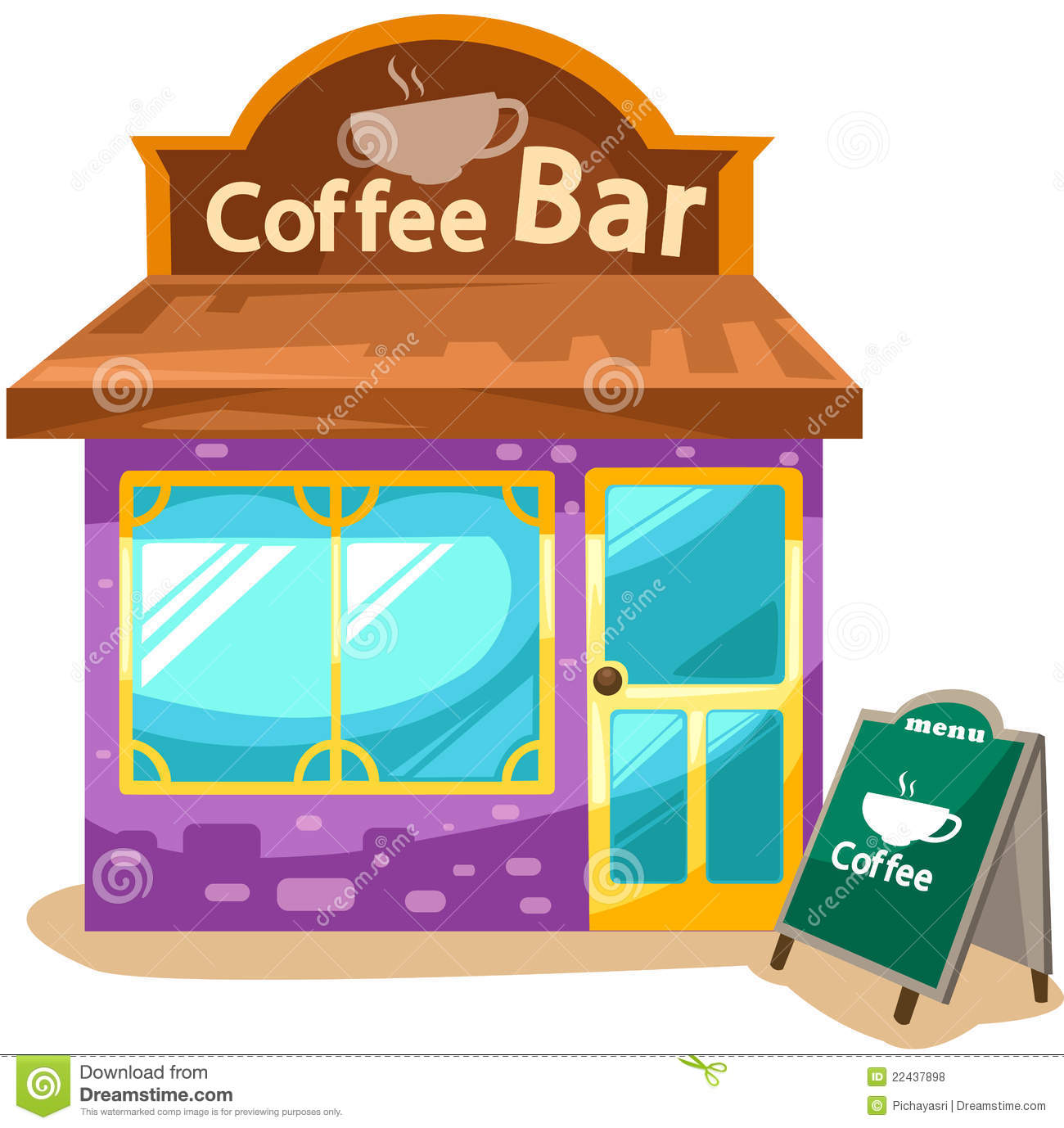 picture royalty free library X making the web. Clipart coffee shop