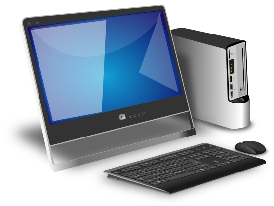 jpg library download Desktop Computer Free Clipart