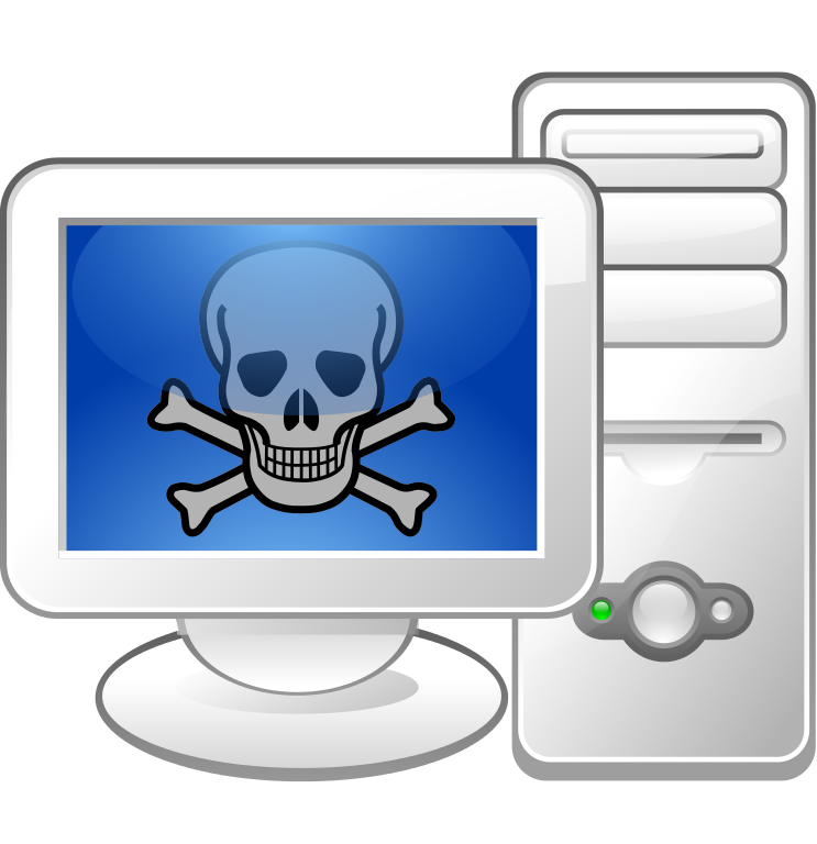 graphic transparent download Clipart computer virus. Security information literacy illustration