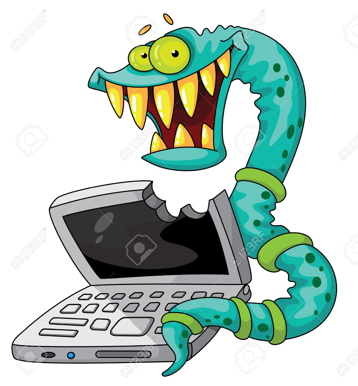 png download Free download best . Clipart computer virus