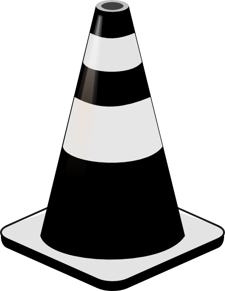 freeuse stock Cone Clip Art at Clker