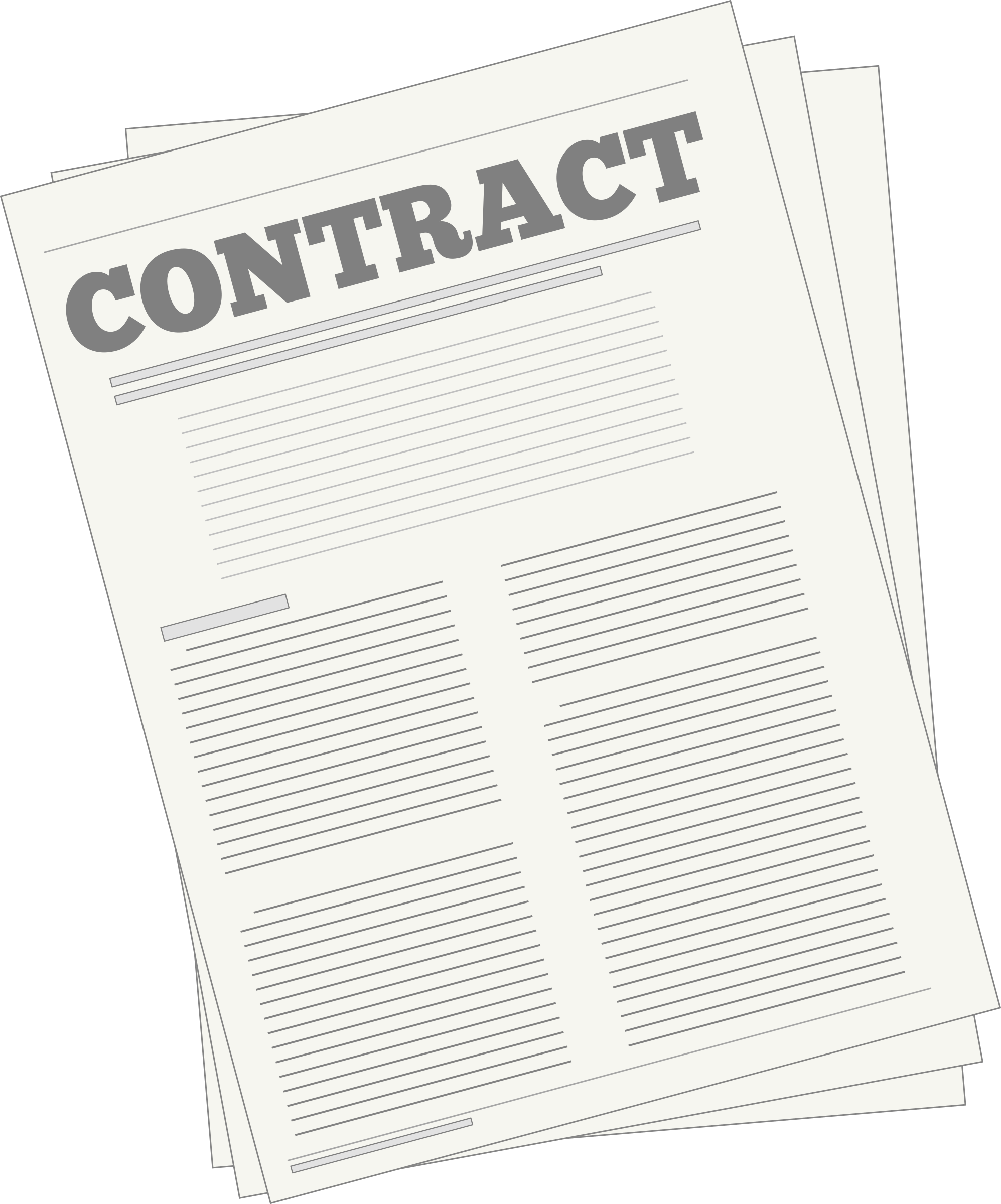 vector library Contracts Clip Art