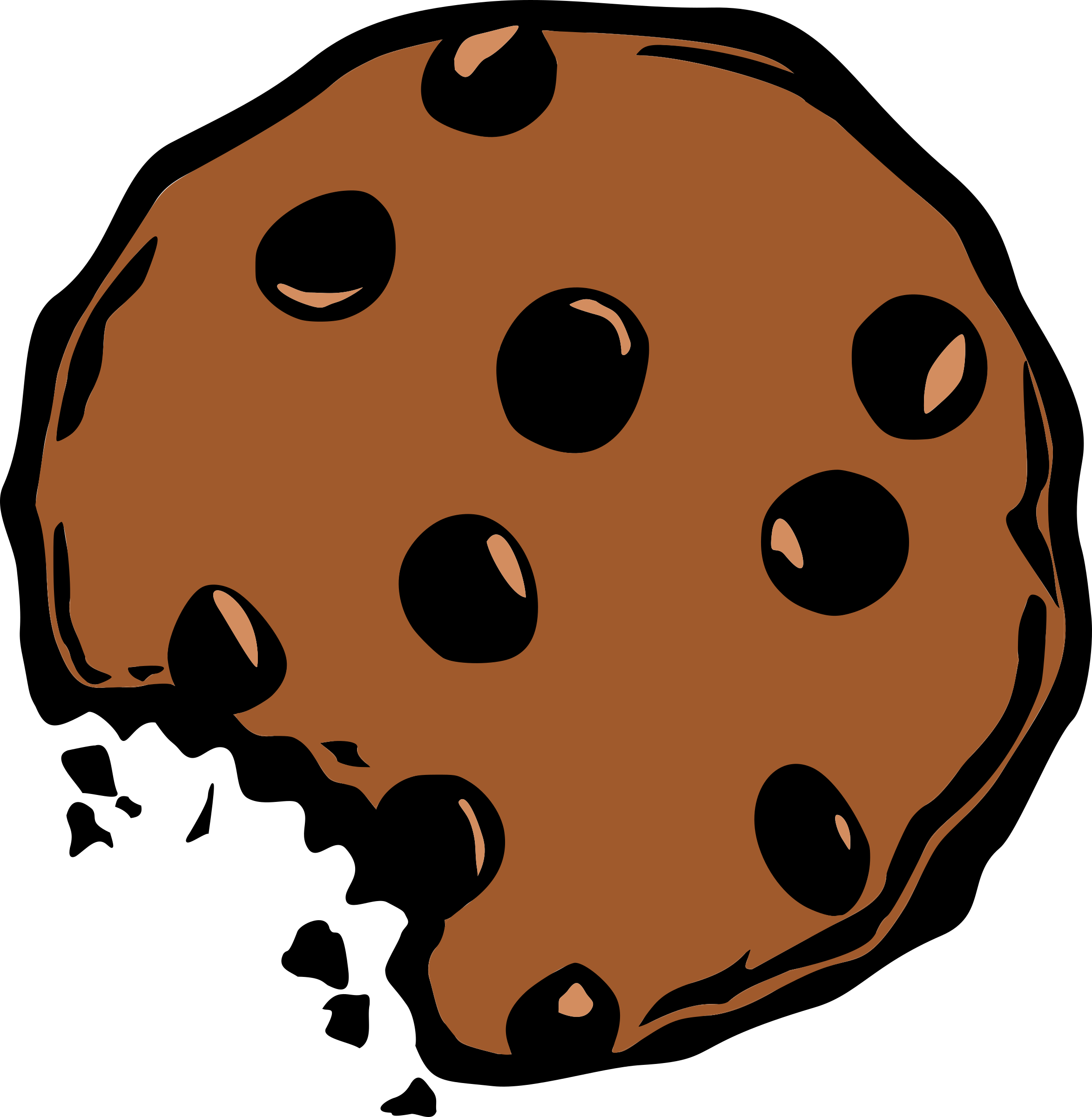 clip art free library Big image png. Cookie clipart
