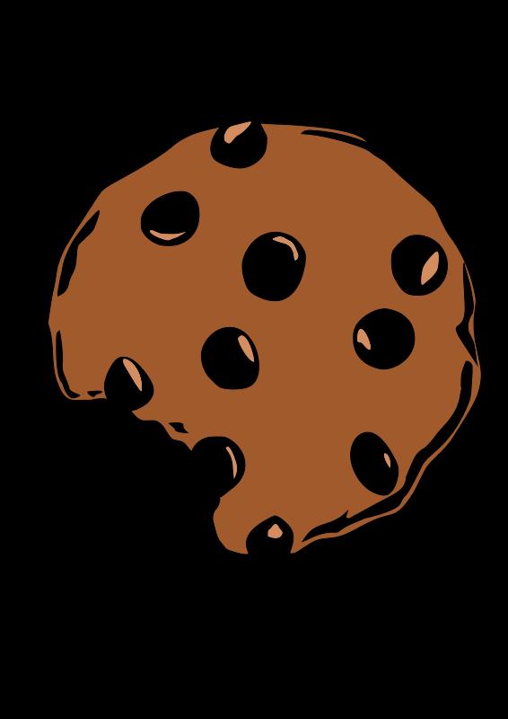 clip transparent download Free clip art clipart. Bite vector cookie