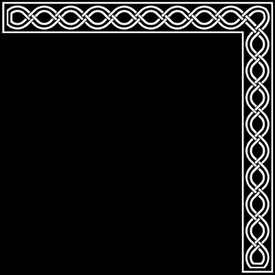 svg royalty free Clipart corner borders. Free clip art panda.