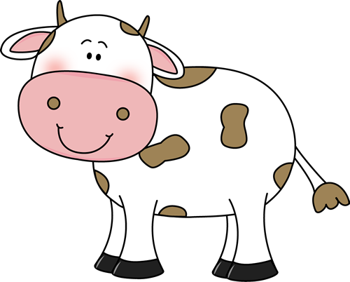 clipart black and white stock Cow clipart. Clip art images with