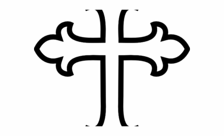 vector freeuse stock Celtic hd png . Clipart cross black and white