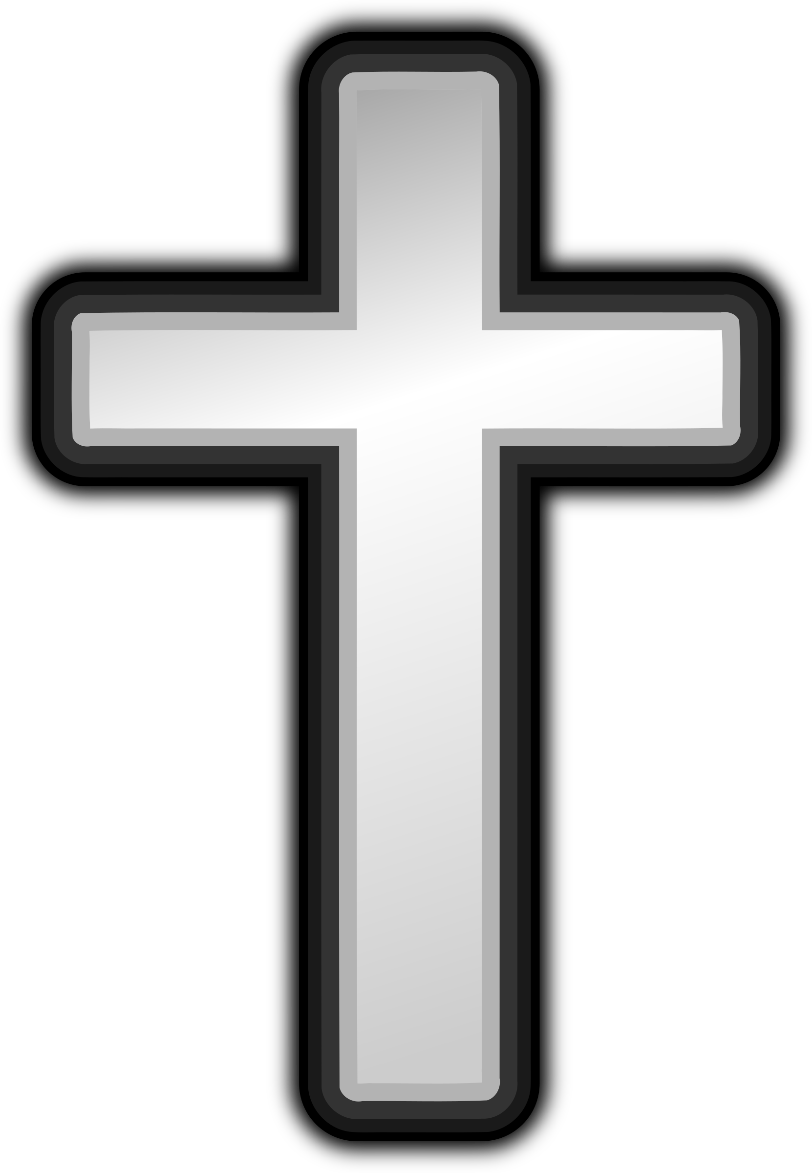 png royalty free stock Clipart cross black and white. Big image png