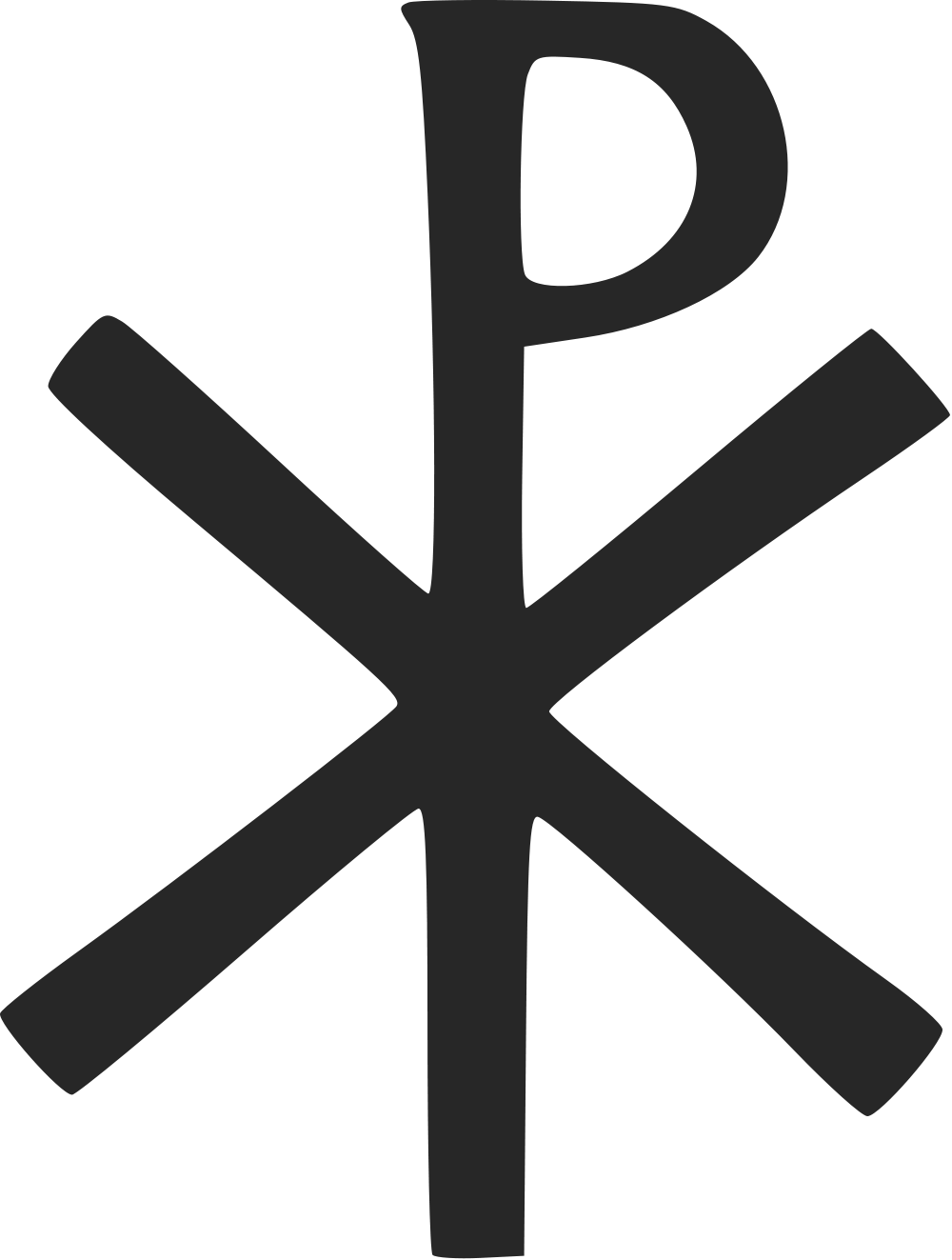svg transparent Symbol protestant pencil in. Clipart cross black and white
