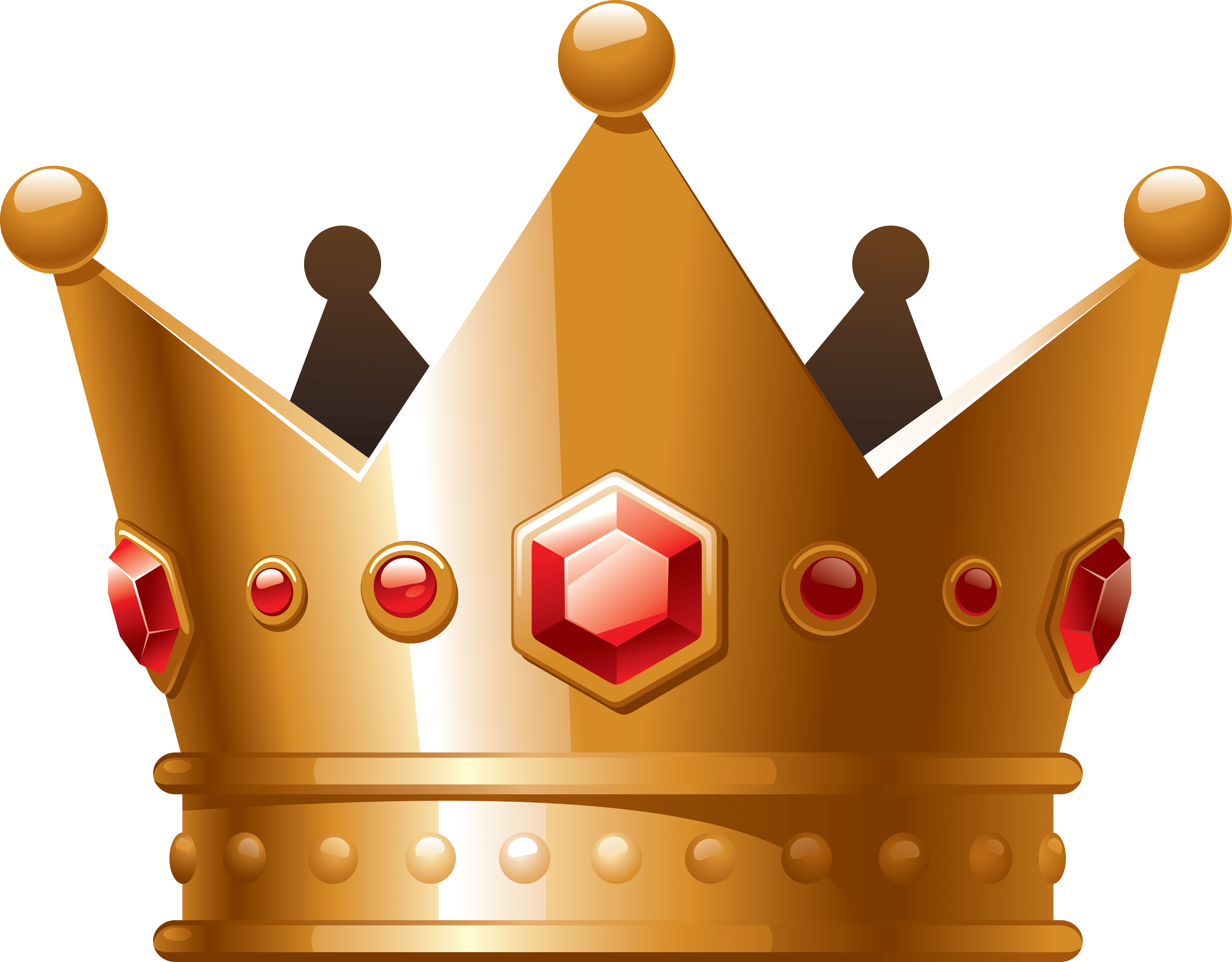 graphic royalty free library Cartoon Crown Clipart transparent PNG