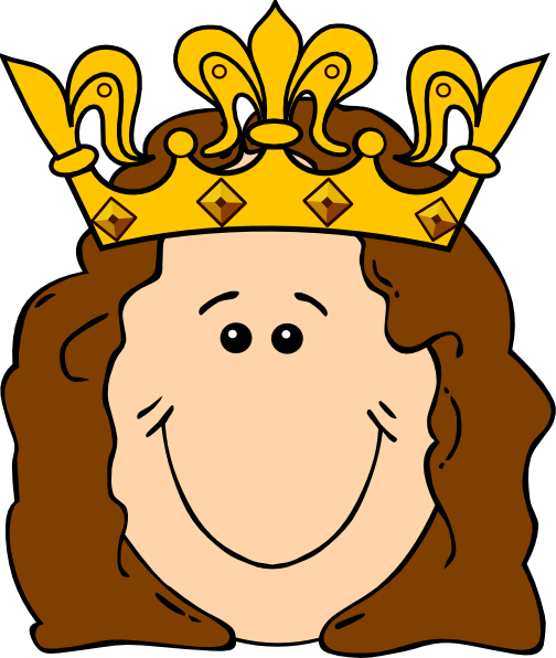 clip art transparent download Cartoon Queen Crown Clip Art at Clker