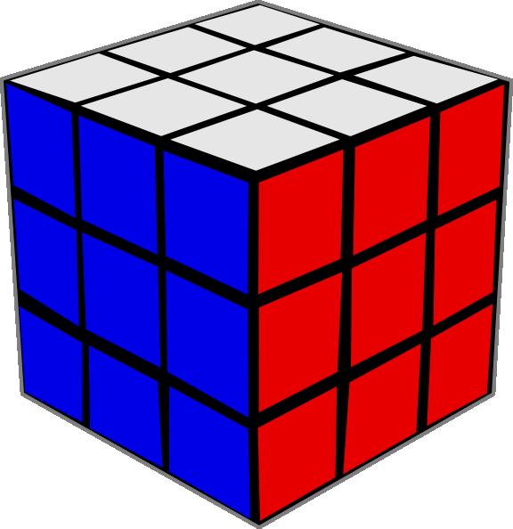 vector transparent download Rubik clip art at. Cube transparent small
