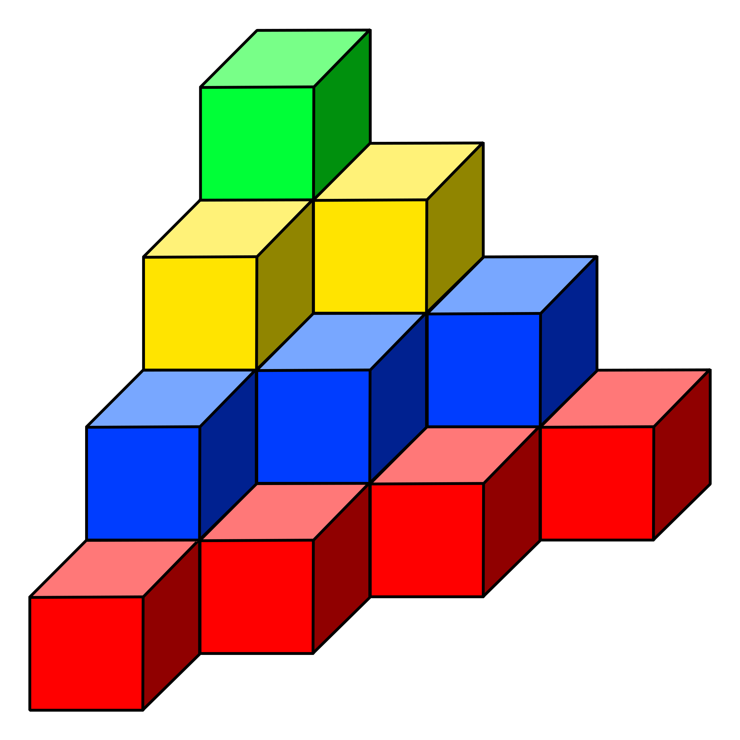 svg library Why clipart cubes. Cube tower big image