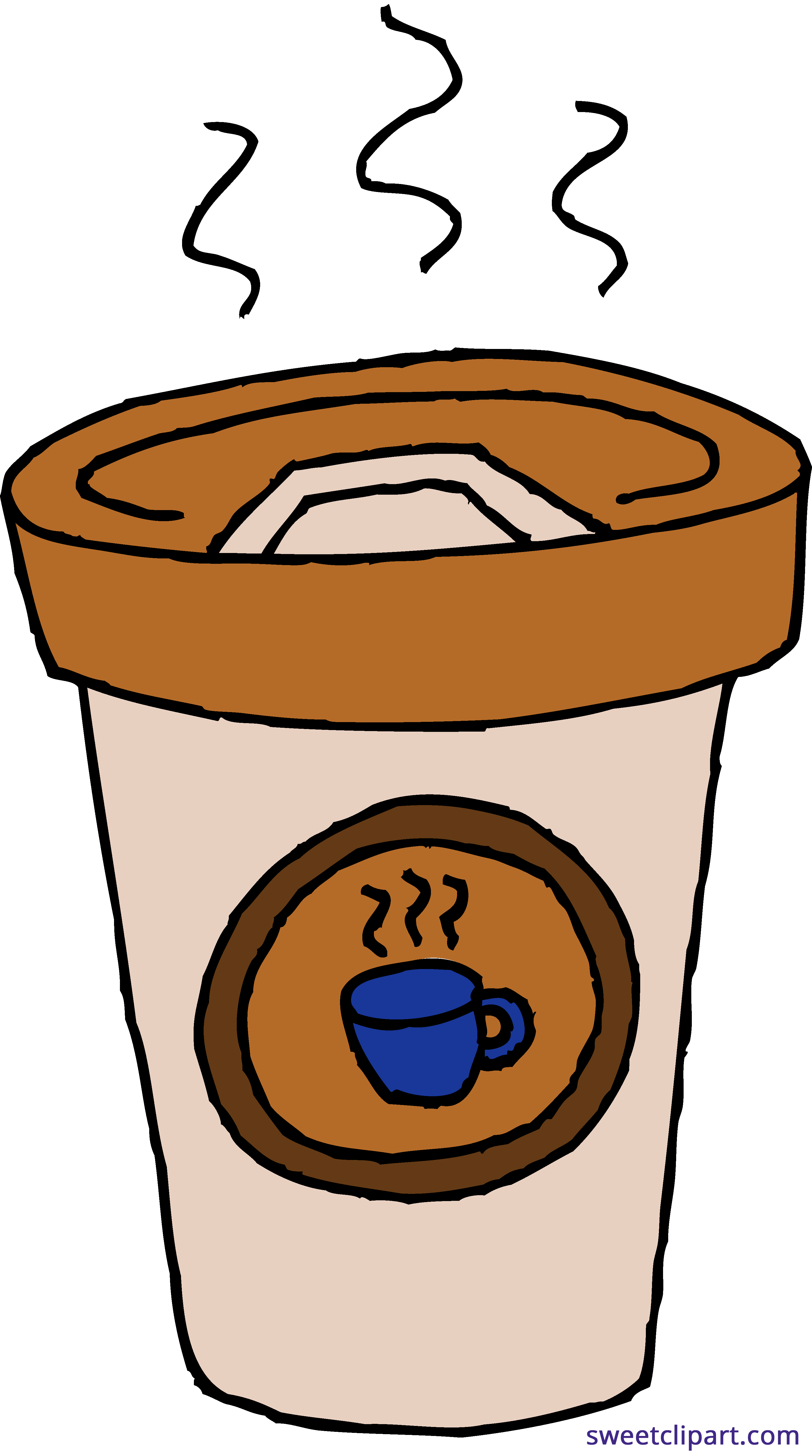 svg library download Coffee Latte Paper Cup Clipart