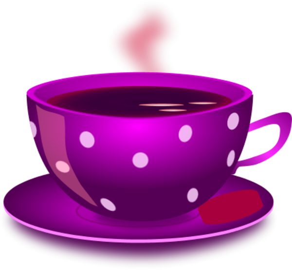 clip freeuse stock cup of tea clipart