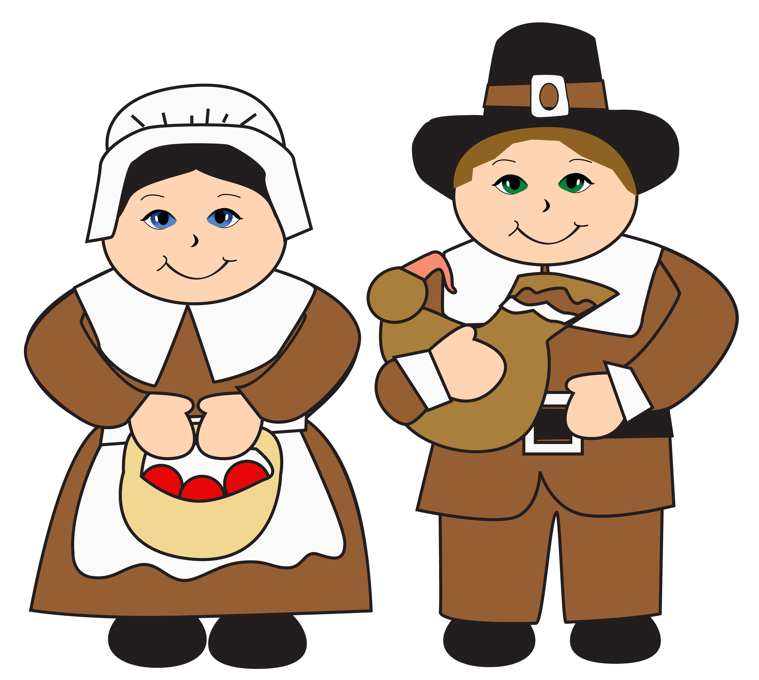 png black and white stock Pilgrims clipart. Png gallery yopriceville high.