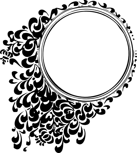 png transparent stock Border Line Design Png Filigree circle svg