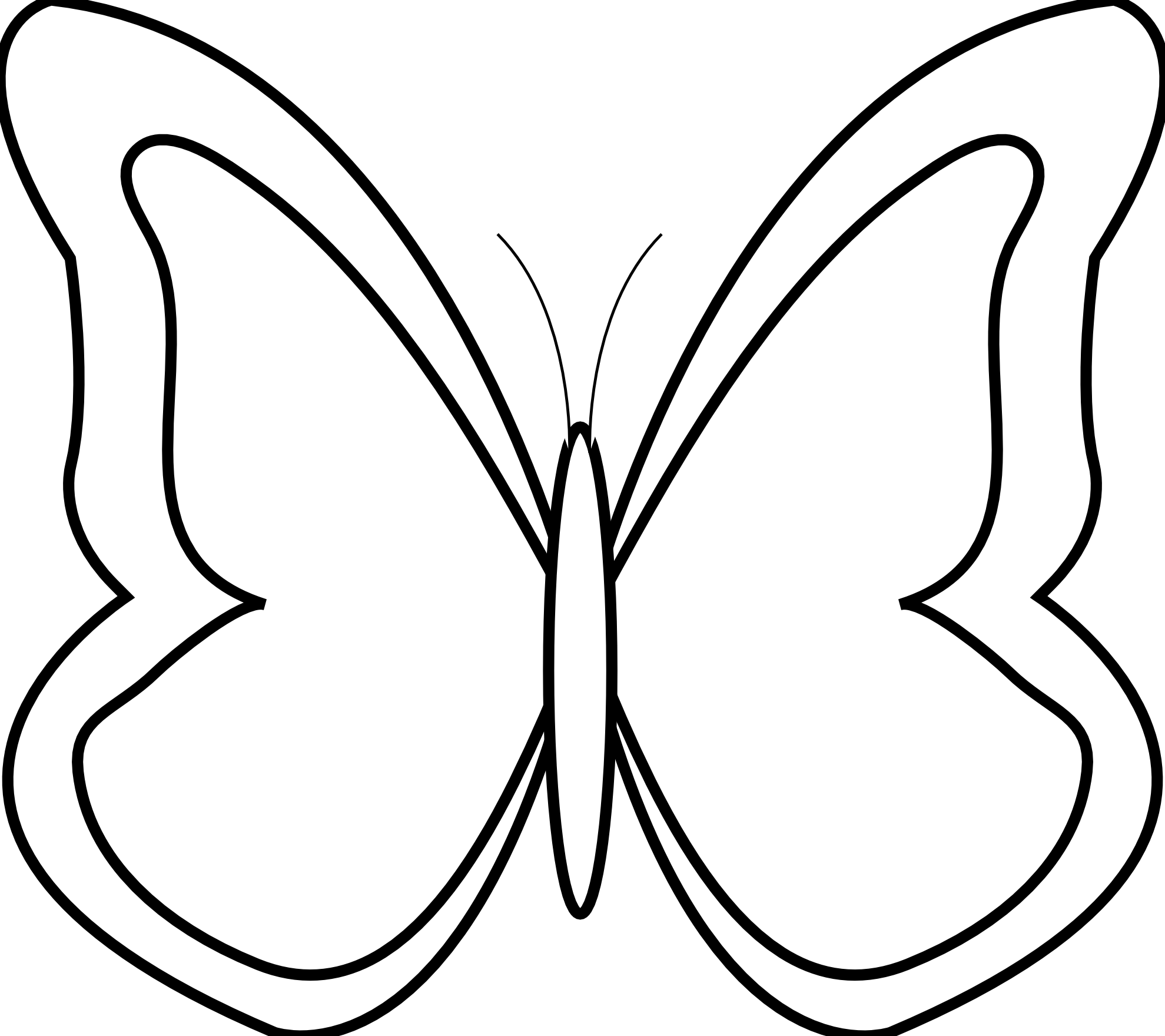 clipart stock Milk black and white clipart. Butterfly design cute free