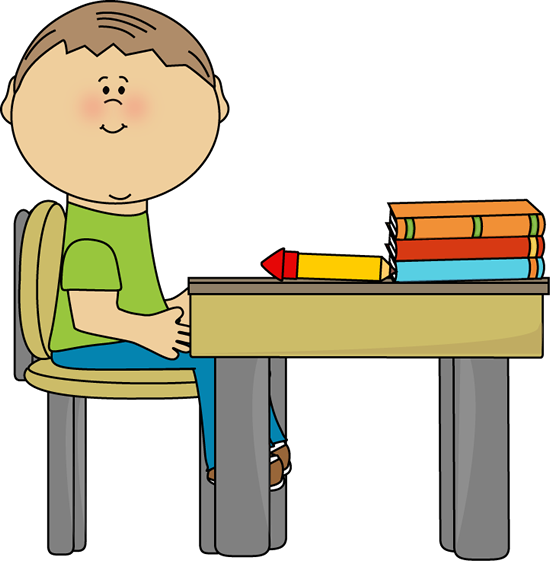 banner freeuse stock Desk school boy at. Classroom clipart