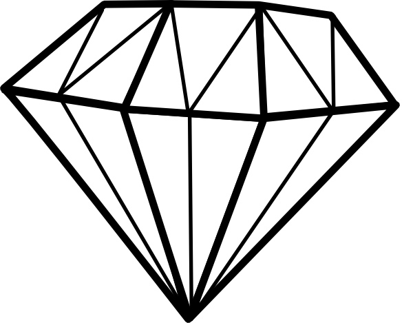 clip art transparent stock Clip Arts Diamond Logo Clipart